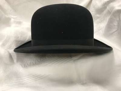 This is a New York Knox Bowler Hat.