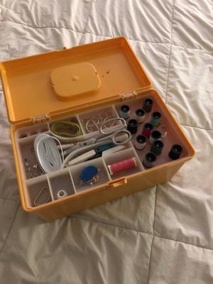 Yellow Sewing Box