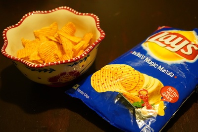 Packet of Lays-Indian Flavor
