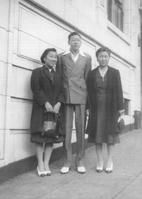 Sanzo's Children - Masa, Kay and Aya - late 1930s