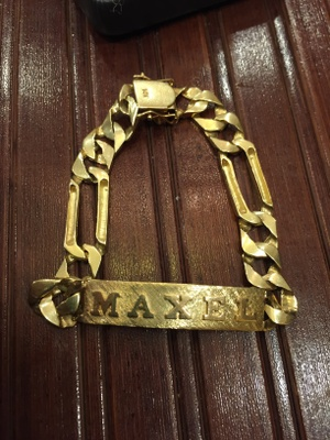"The front of the bracelet ""Maxel"""