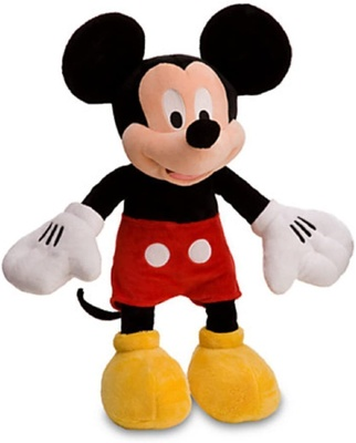 mickey mouse plushie