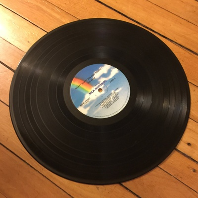 music disc - lp