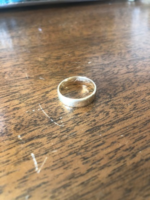 My dad's wedding ring