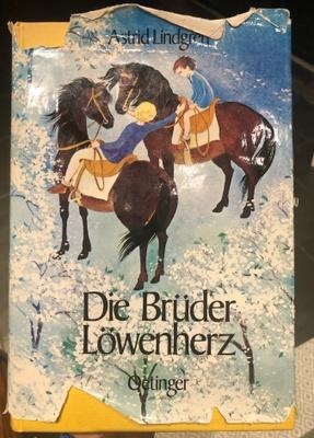 """German book named """"Die Brüder löwenherz"""""""