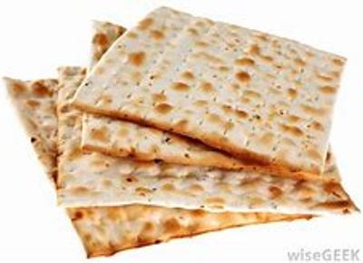 Matzoh is bread that hasn't risen yet