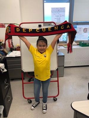 DEP Cuenca Soccer Scarf