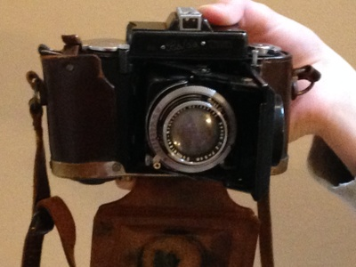 Balda camera made before World War II.