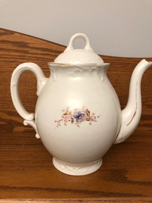 teapot from Austria