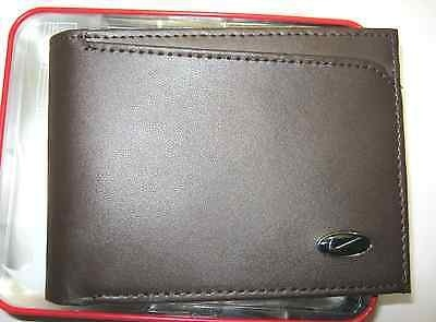 A brown color wallet, with Nike symbol