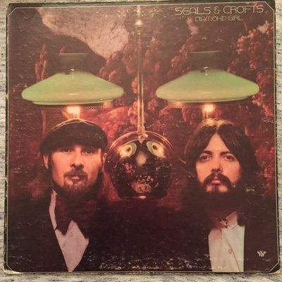 Diamond Girl, Seals &Crofts- Front Cover