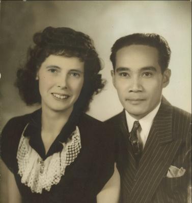 Angel and Carla Turinia, 1944