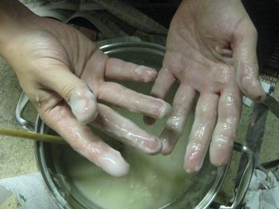 Paper mache glue