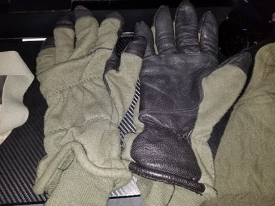 Gloves to keep my hands safe.