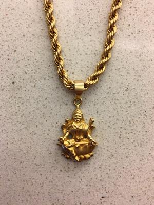 5-gram Gold Lakshmi Pendant