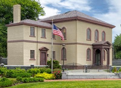 Touro Synagogue Exterior Newport, RI