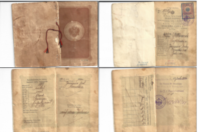 Great Great Grandmother's Passport