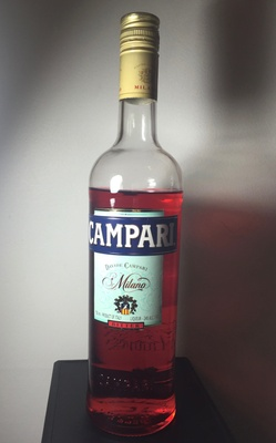 Campari is a bitter herbal liqueur