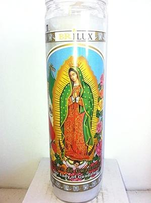 La virgen de guadalupe candle