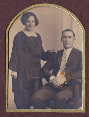 Maximina & Esteban's wedding, 1925