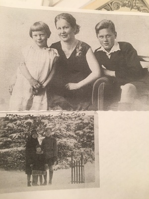 Great grandpa with his mother and sister