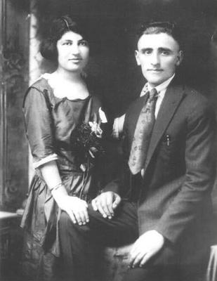 My grandparents, 1920