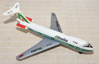 Alitalia Toy Plane