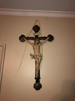 Crucifix made by my Great Grandfather