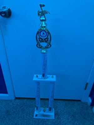 Adept Trophy from Napa School of Music