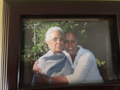 my grandmother and mother
