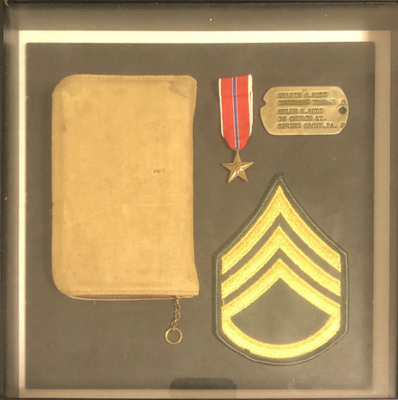 World War II Shadow Box