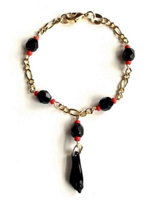 Azabache bracelet