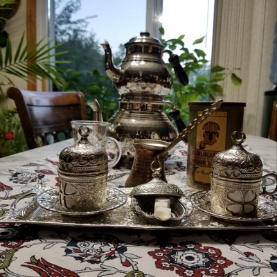 Turkish Tea set and Coffee