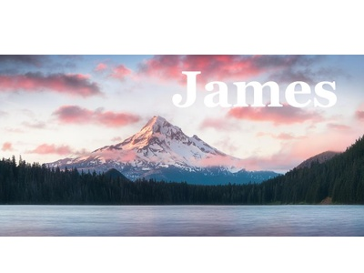 Mt. Hood and my middle name.