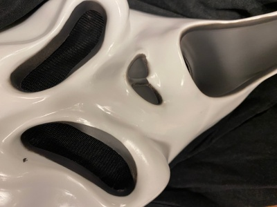 This is a photo of the mask i had