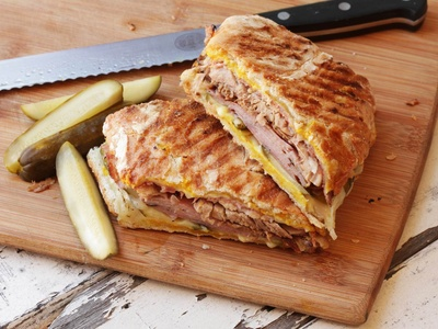 This is how a Cuban Sandwich looks like