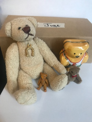 My grandmother's bear collection