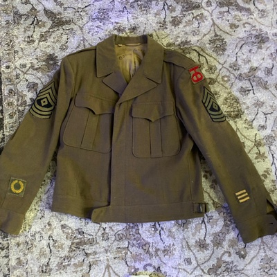 This is his jacket worn in WW2