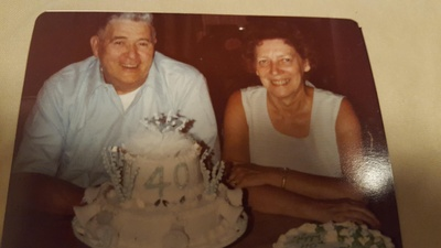 Lynn Dopp with wife, Frances.