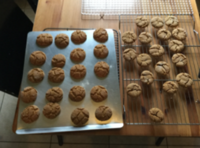 These are the Ginger-Molasses Cookies.