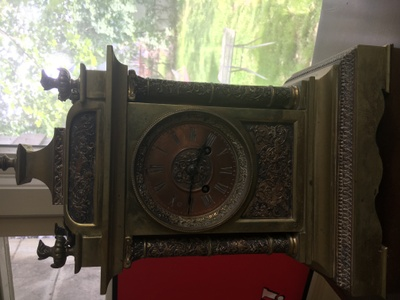 an antique clock from Italy