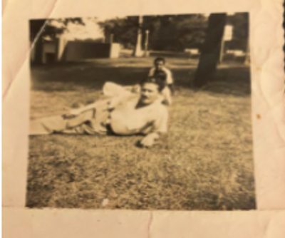 This is a picture of my great grandpa. A charmer according to my great grandma.