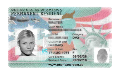 Green Card Sample