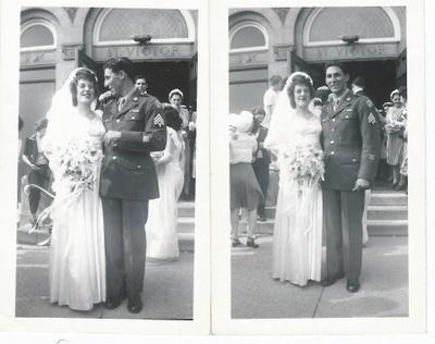 Lawrence(left) marrying Elizabeth(right)