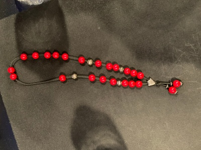 String of worry beads
