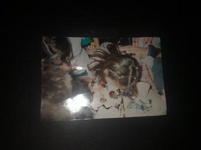 photo on my Aunts 6th birthday