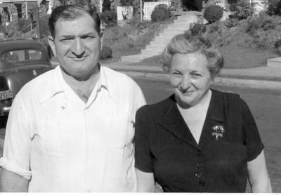 Sarah and Joe Kaplan, Audrey's great grandparents