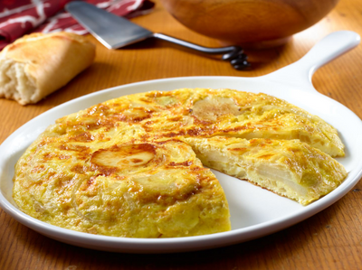 This is Tortilla Espanola