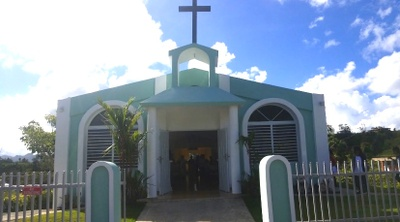 Our church and communal center.