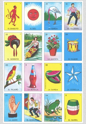 loteria a card game